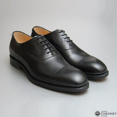 Cheaney Alfred Oxford in Black Calf