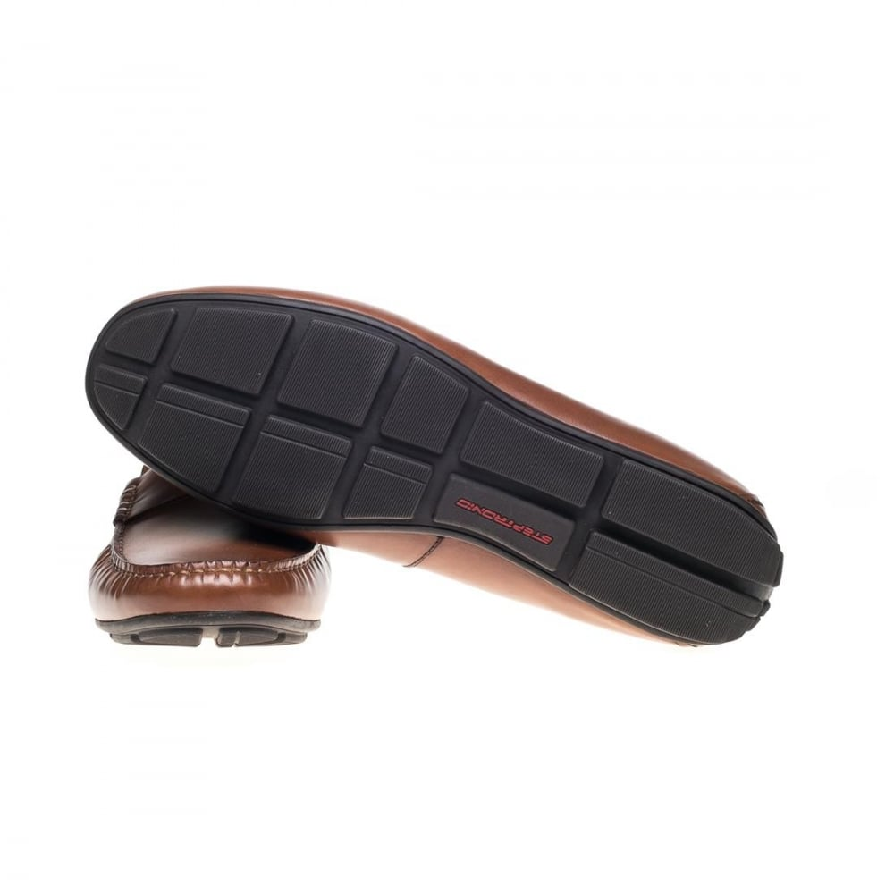 Steptronic Dylan Driving Shoe in Cognac