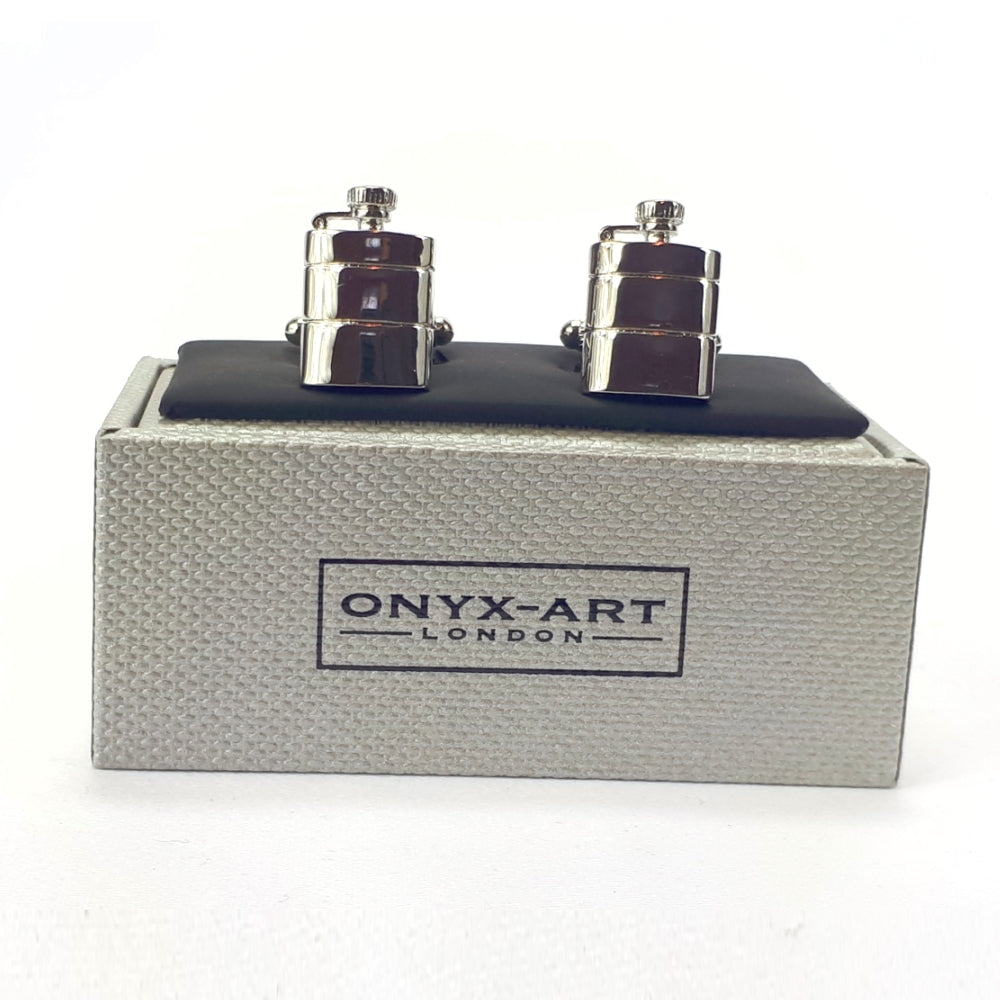 Hip Flask Cufflinks