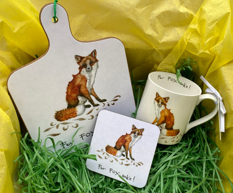 """For Fox Sake!"" Mini Chopping Board"