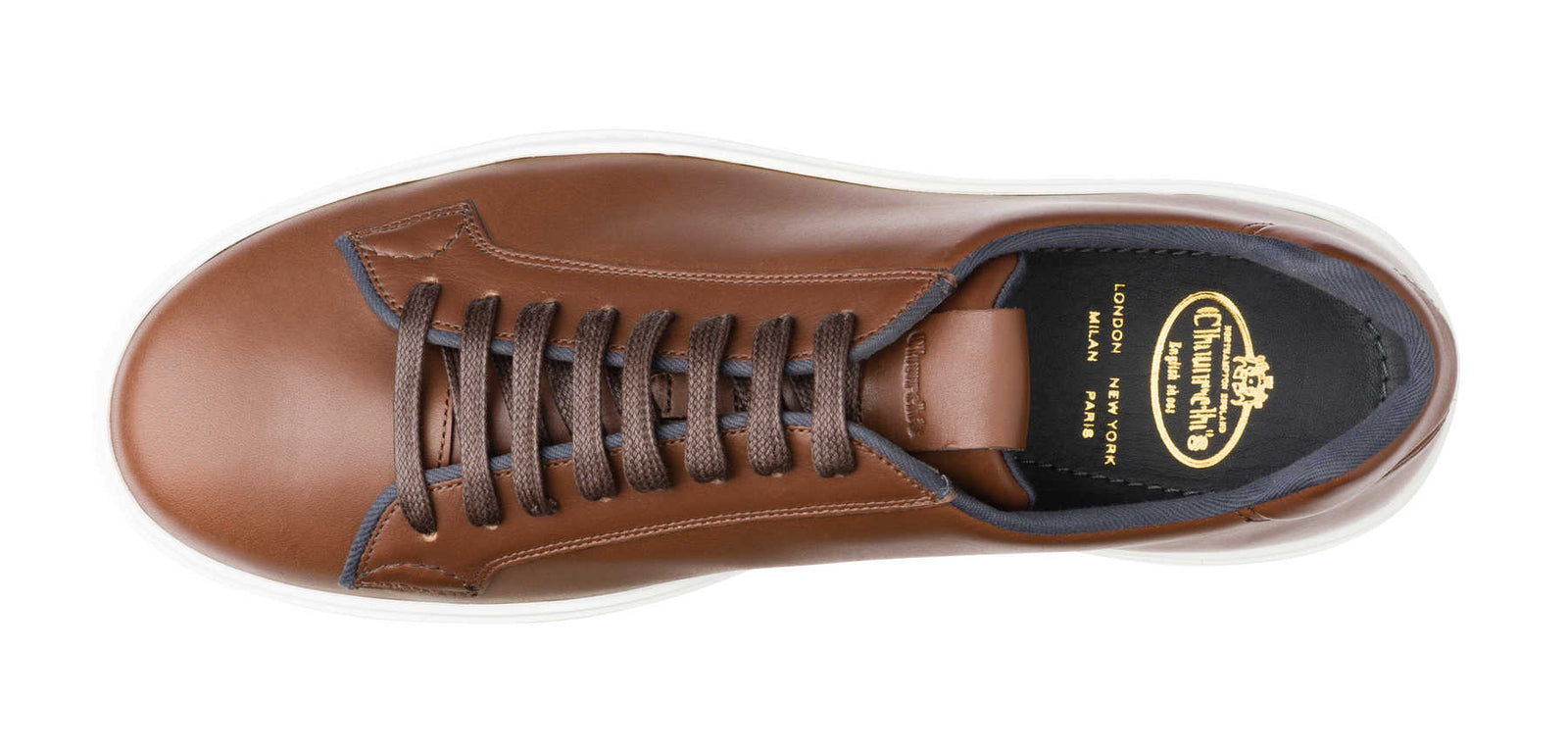 Church's Mirfield Antic Calf Sneaker in Brown