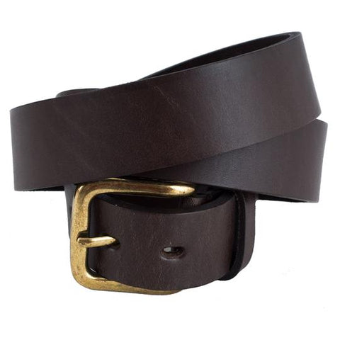 Plain Black Belt