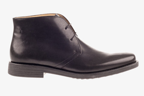 Cheaney Jackie III R Chukka Boot in Burnished Dark Leaf Calf Leather