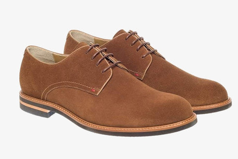 R M Williams Comfort Craftsman in Brown Suede
