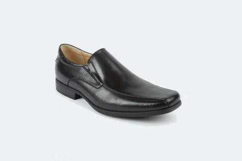 Cheaney Broad II Oxford Brogue in Black Calf Leather