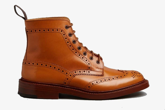 Tricker's Stow Acorn Antique Boot