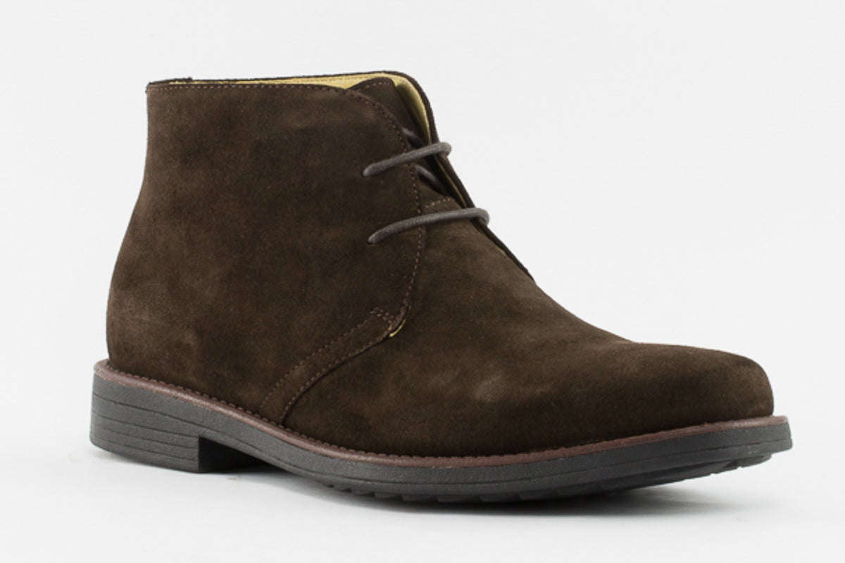 Steptronic Alfa Dark Brown Suede