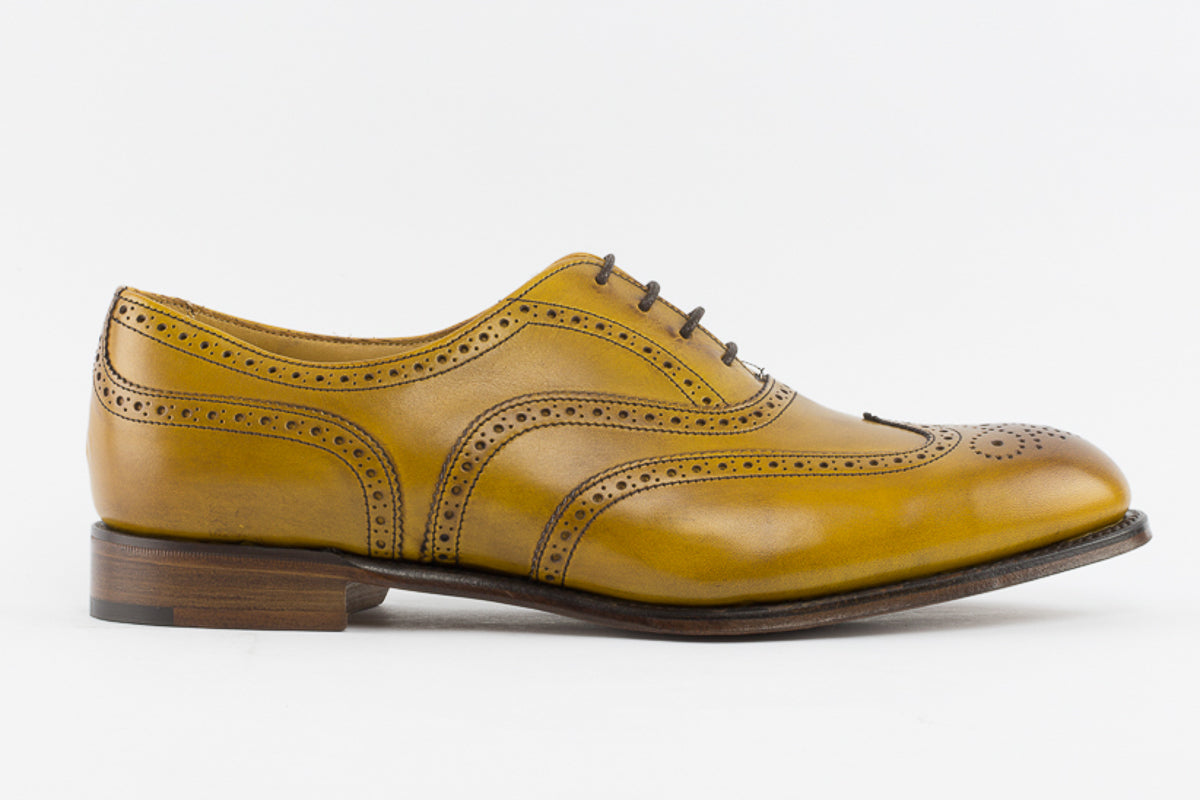 39f4b5e3d9785 ... Cheaney Maisie Ladies Wingcap Oxford Brogue in Original Chestnut Calf  Leather ...