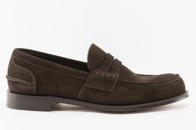 Church's Pembrey Loafers in Brown Castoro Suede