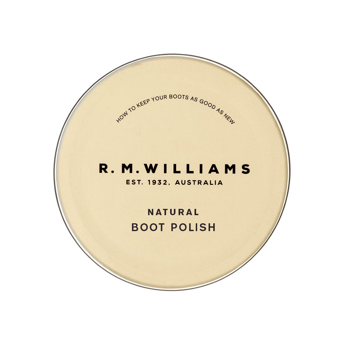 R.M.Williams Stockman's Boot Natural Polish