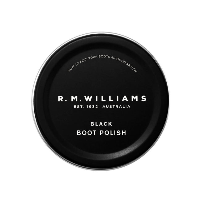R.M.Williams Stockman's Boot Black Polish