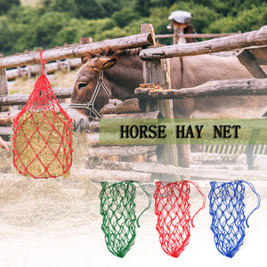 Donkey Feeding Bag,  Slow Feeder Hay Net, Equestrian Feeding Supply