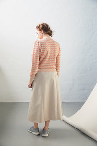 "Aiayu ""Tupile"" sweater Mix Pearl/Tomato"