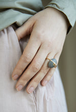 "Load image into Gallery viewer, Millie Behrens, ""Pebbles ring Embrace"", gull"