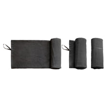 Load image into Gallery viewer, TOC Towel to Go - Dark Grey (60x120 cm)