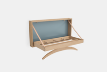 Load image into Gallery viewer, The Hanger, Soaped oak & grey blue