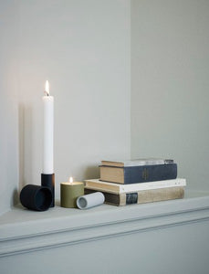 Skagerak Tube Candle Holder, Double Grey