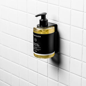Bade Anstalten Liquid soap mount (black)