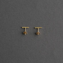 Load image into Gallery viewer, Una earstick 14k Gold, pair