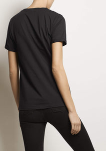 Organic cotton CORE T-SHIRT, Black