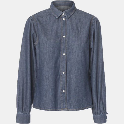Hepburn puff shirt original denim