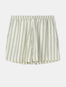 "Aiayu ""Lulu Tiny Stripe"" shorts Mix Pistacio"