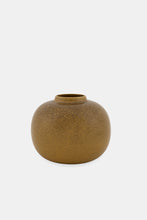 "Load image into Gallery viewer, Klassik Studio, vase, mustard ""Alvin"""