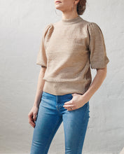 "Load image into Gallery viewer, Aiayu ""Anina"" sweater Light Camel"