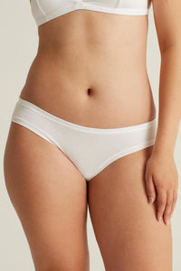 Low-rise undies HIPSTER BASE, white