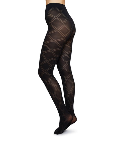 Swedish Stockings, Kajsa Tights Black 70
