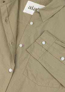 "Aiayu ""Shirt Essential Poplin"" Seagrass"