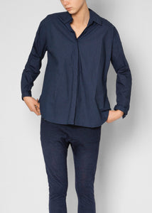 Aiayu, Shirt Slim Navy