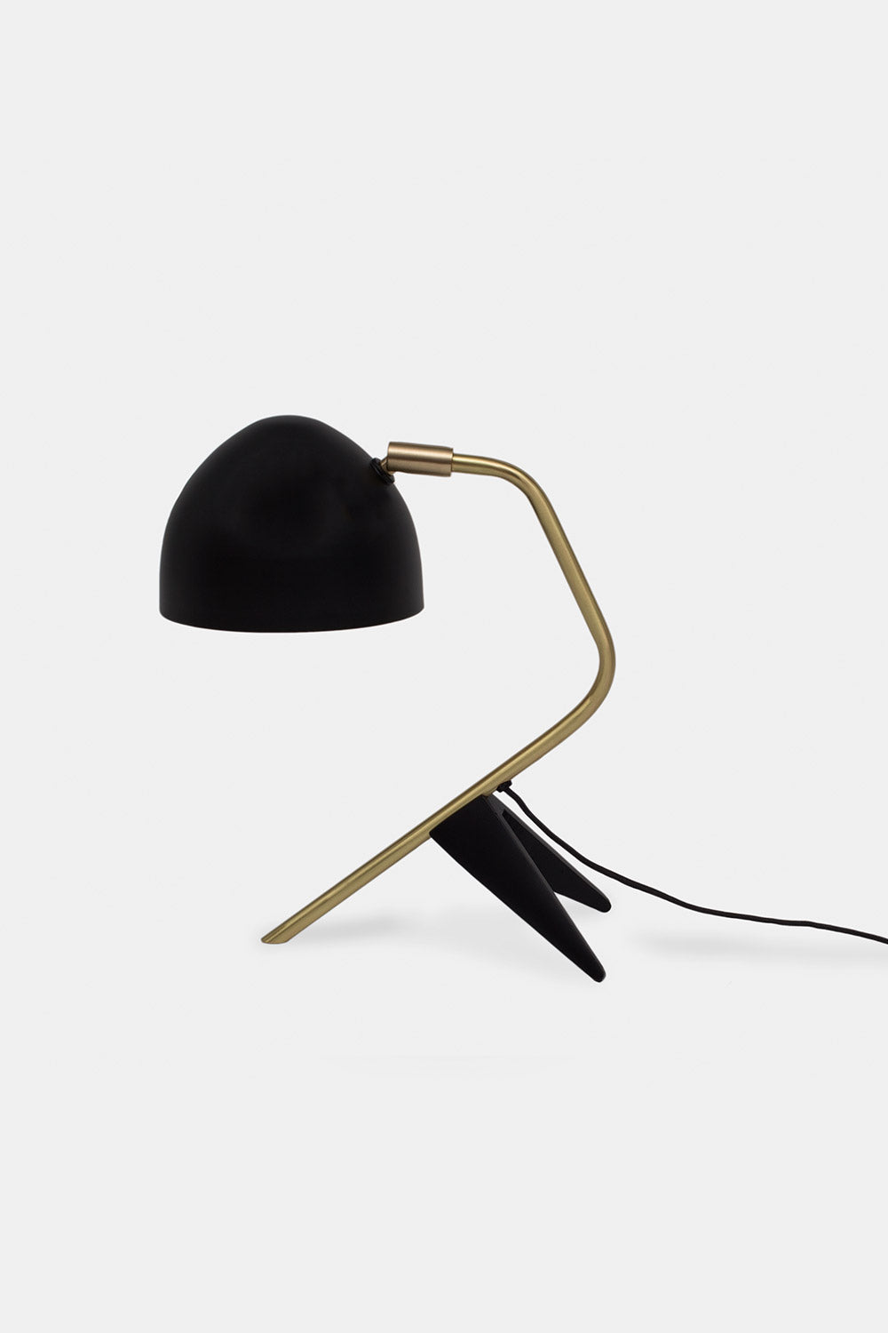 Studio 1 Table lamp, Mat black/brass