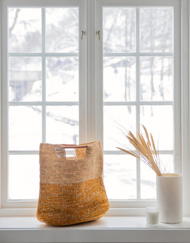 Elia Beach Tote bag Goldenrod