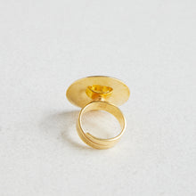 Load image into Gallery viewer, Opro, Ring Olive en perle forgylt Champagne