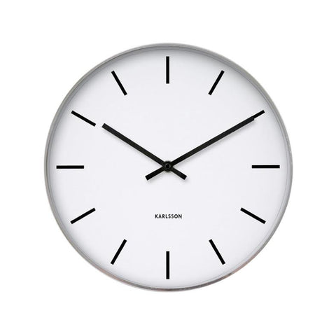 Karlsson Classic Station Wall Clock- PICK UP ONLY