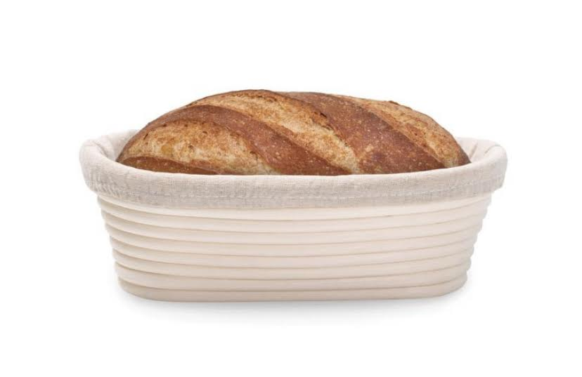 Oval Bread-Proofing Basket