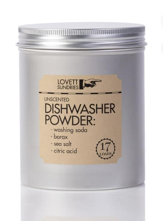 Lovett Sundries Dishwasher Powder