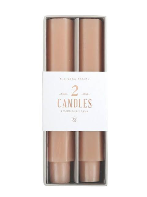 Fancy Taper Candles- 6