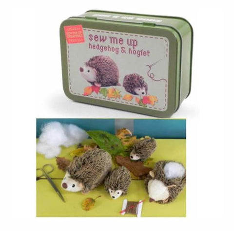 Sew Me Up: Hedgehog & Hoglet