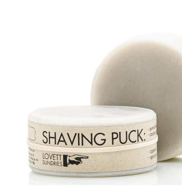 Lovett Shaving Puck