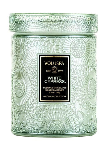 Voluspa White Cypress Candle 5.5oz