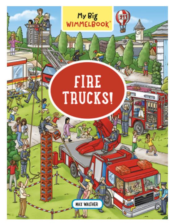 My Big Wimmelbook:  Fire Trucks