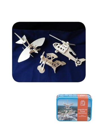 Flying Machines in a Tin