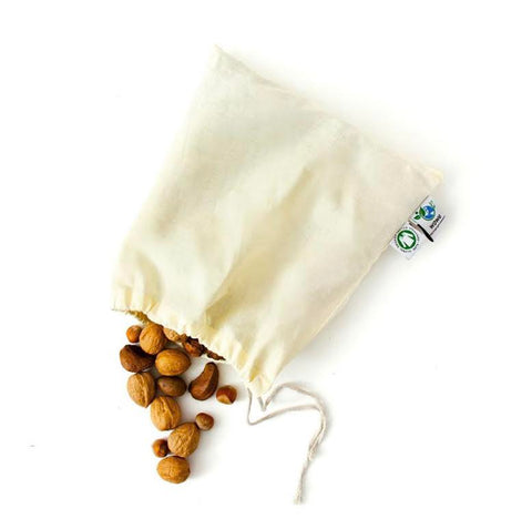 Cotton Muslin Product Bag- Small