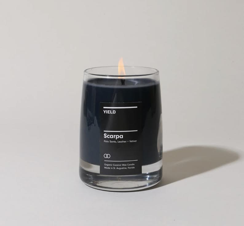 Yield Design 8oz. Scarpa Candle