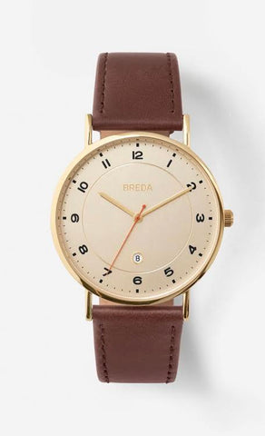 PEI Watch- Gold/Walnut/Ivory