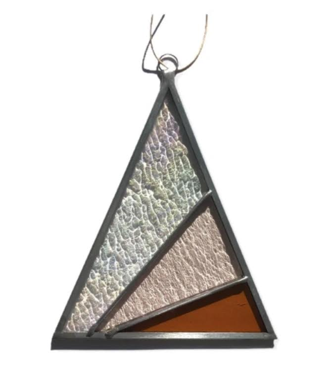 Rays Triangle Suncatcher- Iridescent