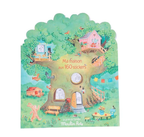 Moulin Roty La Grande Famille Sticker Book