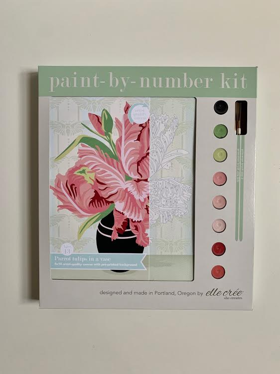 Parrot Tulips Paint by Number Kit